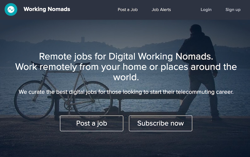 working nomads